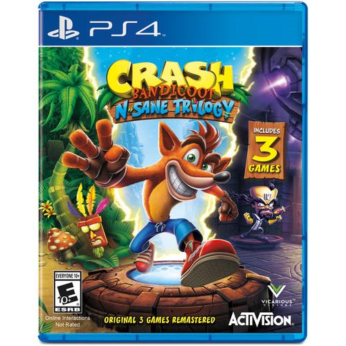Activision Crash Bandicoot N. Sane Trilogy (PS4)