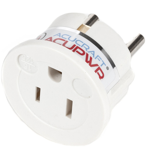 ACUPWR Type B to Type F Plug Adapter