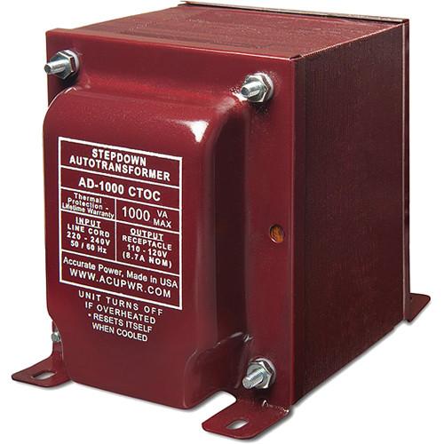 ACUPWR AD-1000 Step Down Transformer (1,000 W)