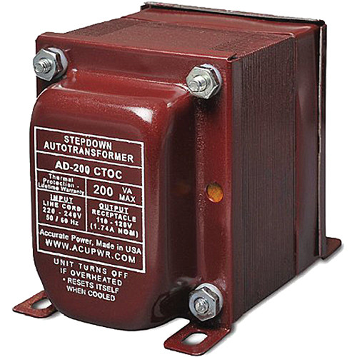 ACUPWR AD-200 Step-Down Transformer (200W)