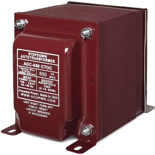 ACUPWR ADC-850 CTOC 850W High-End Step Down Transformer