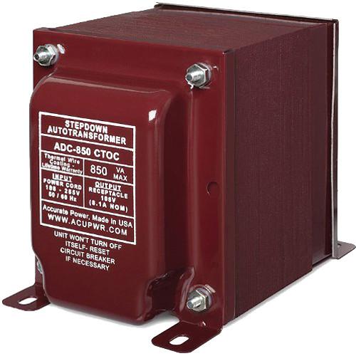 ACUPWR ADC-850 CTOC 850W High-End Step Down Transformer