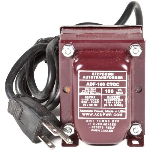 ACUPWR 100W Step Down Transformer (Type I Plug)
