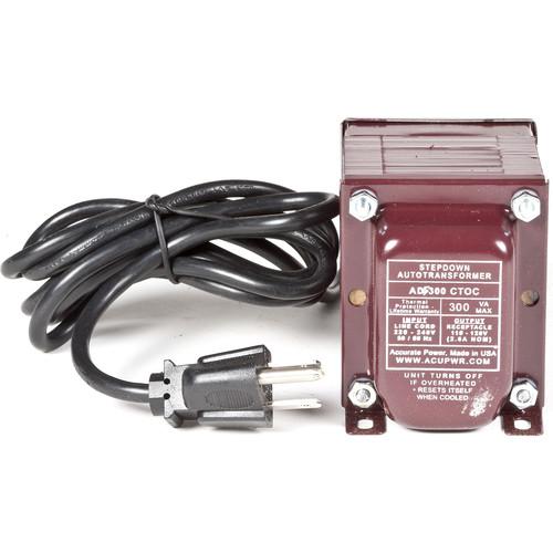 ACUPWR 300W Step-Down Transformer (Type B Plug)