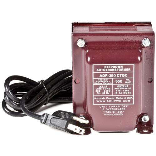 ACUPWR 350W Step Down Transformer (Type I Plug)