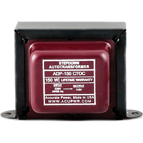ACUPWR ADP-150 CTOC Step Down Transformer (150W)