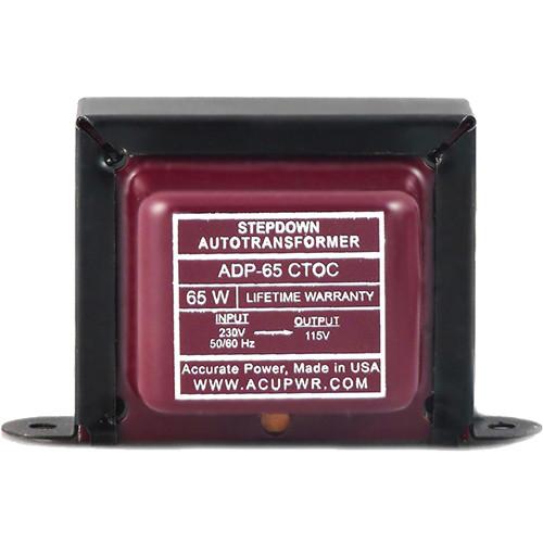ACUPWR ADP-65 CTOC Step Down Transformer (65W)