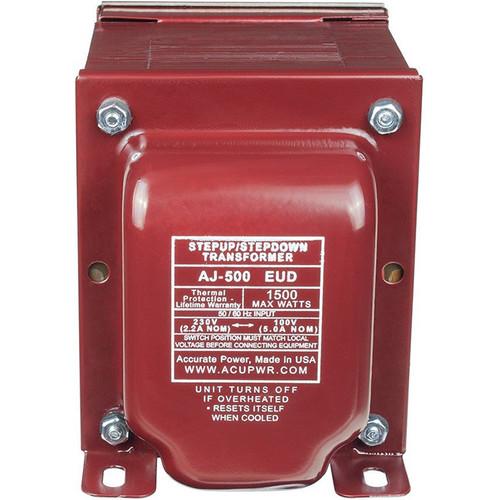 ACUPWR AJ-500EUD 500 Tru-Watts Step Up/Step Down Voltage Transformer
