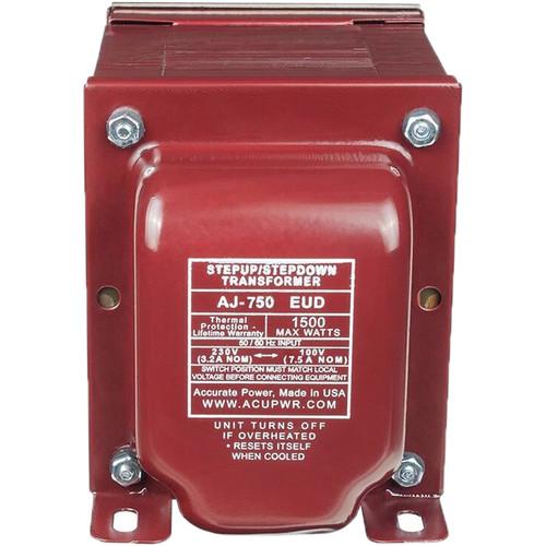 ACUPWR AJ-750 EUD 750W Step Up / Step Down Voltage Transformer 100-230V