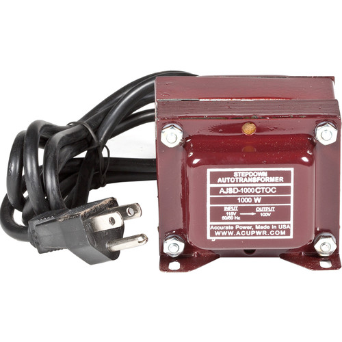 ACUPWR US to Mexico Step Down Transformer (1000W)