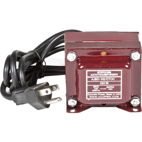 ACUPWR US to Mexico Step Down Transformer (550W)