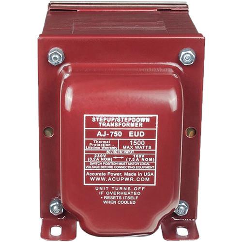 ACUPWR AS-750EUD Step-Up/Step-Down Voltage Transformer (750W)
