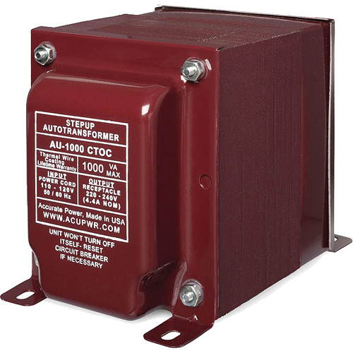 ACUPWR AU-1000 Step-Up Transformer (1,000W)