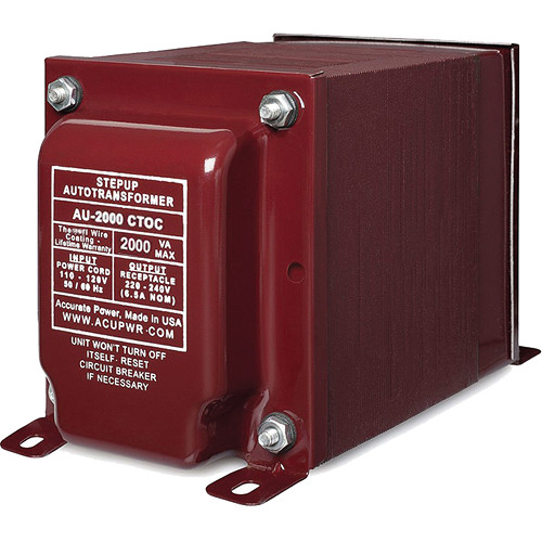 ACUPWR AU-2000 Step-Up Transformer (2,000W)