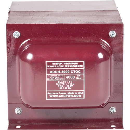 ACUPWR AUDH-4000 Step Up/Step Down Home Transformer/Voltage Converter (4000W)