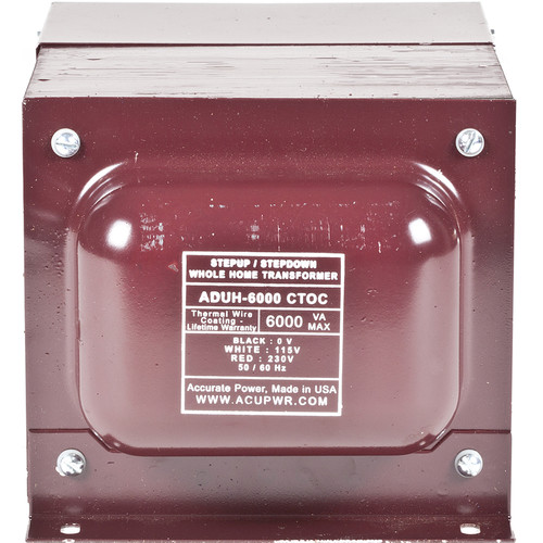 ACUPWR AUDH-6000 Step Up/Step Down Home Transformer/Voltage Converter (6000W)