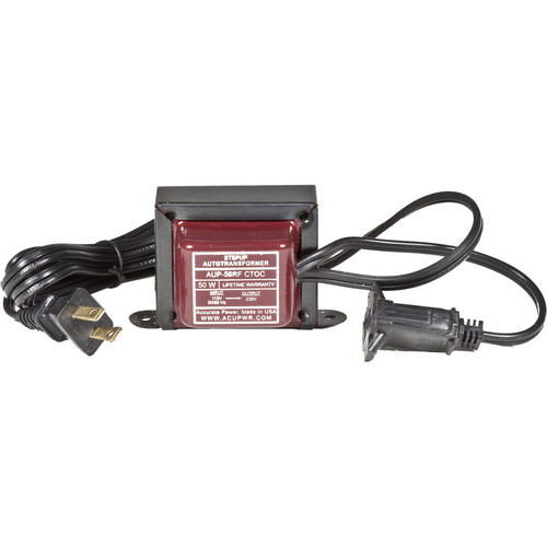 ACUPWR 50W Step Up Transformer/Converter (Type A Plug)