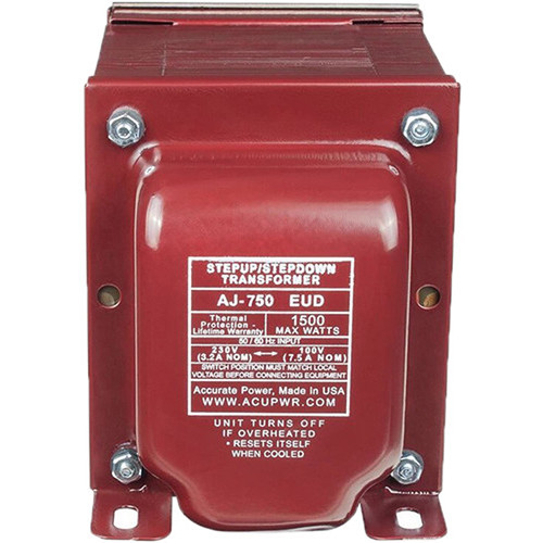 ACUPWR Mexico/Brazil to USA Step-Up Voltage Transformer (1800W)