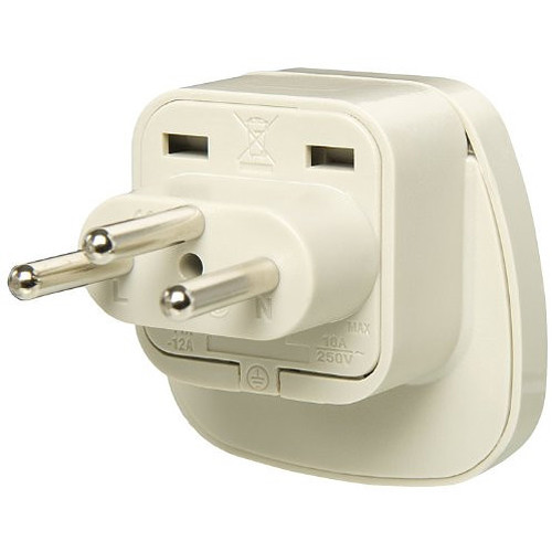 ACUPWR Type F to Type J Plug Adapter