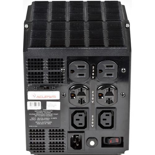 ACUPWR 220 to 240V Voltage Stabilizer/Line Conditioner (2000W)