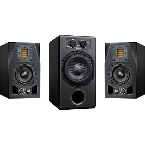 Adam Professional Audio AX 2.1 Bundle with A3X Monitors and SUB7 Subwoofer