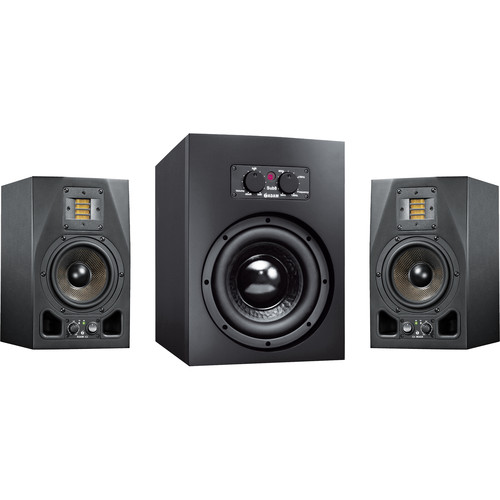 Adam Professional Audio AX 2.1 Bundle with A5X Nearfield Monitors and Sub8 Subwoofer
