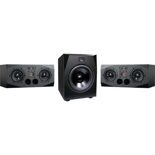 Adam Professional Audio AX 2.1 Bundle with A77X Horizontal Monitors and Sub15 Subwoofer