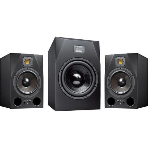 Adam Professional Audio AX 2.1 Bundle: A8X/SUB12