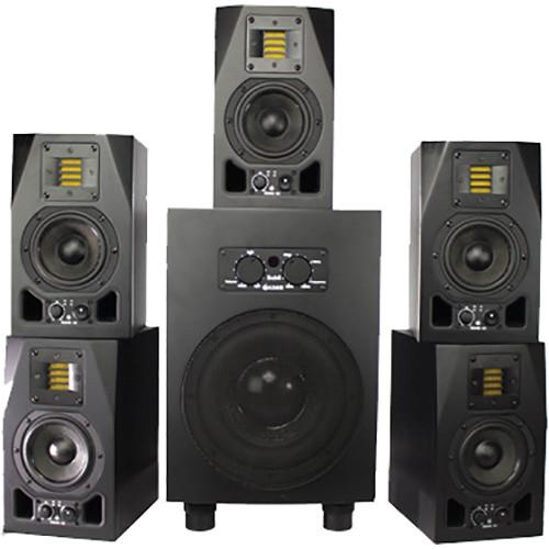 Adam Professional Audio AX 5.1 Bundle: A3X/SUB8 Fogg