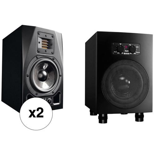 Adam Professional Audio A5X-Sub8 Nearfield Monitors & Subwoofer Bundle