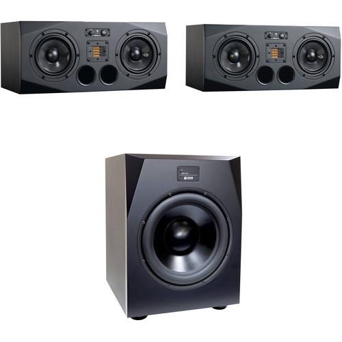 Adam Professional Audio A77X-Sub15 Nearfield Monitor Bundle with Sub15 Subwoofer