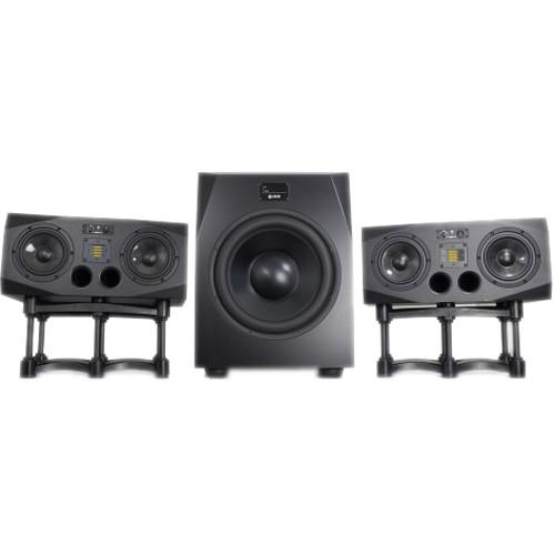 Adam Professional Audio A77X Studio Monitors (Pair) & Sub15 Subwoofer Speaker Bundle