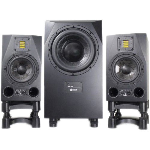 Adam Professional Audio A7X Nearfield Monitors (Pair) and Sub10 MK2 Subwoofer Speaker Bundle