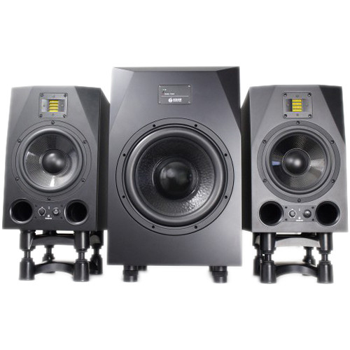adam professional audio a8x studio monitors bundlea8xsub12 b h. Black Bedroom Furniture Sets. Home Design Ideas