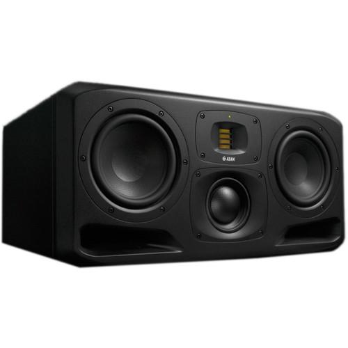 "Adam Professional Audio S3H Active Three-Way 2x7"" Midfield Studio Monitor (Horizontal, Single)"