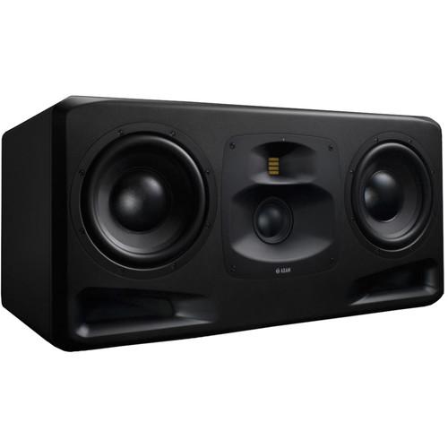 "Adam Professional Audio S5H Active Three-Way 2x10"" Main/Midfield Studio Monitor (Horizontal, Single)"