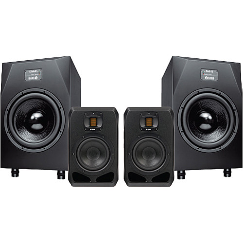 Adam Professional Audio Hamburg - Nearfield Monitors with Matched Subwoofers (Pair)