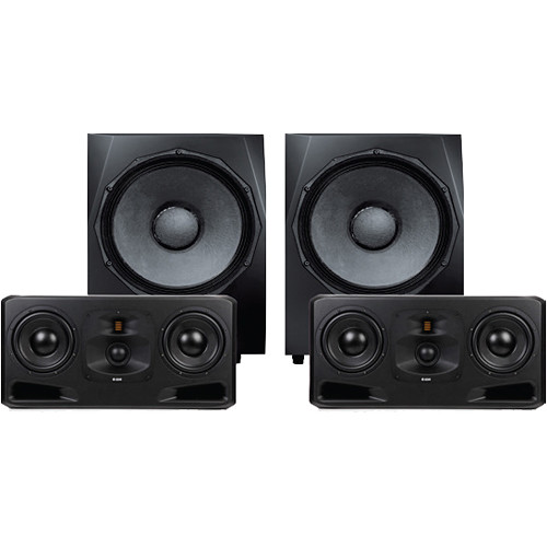Adam Professional Audio Frankfurt Matched Monitoring System with Midfield Monitors & Subwoofer