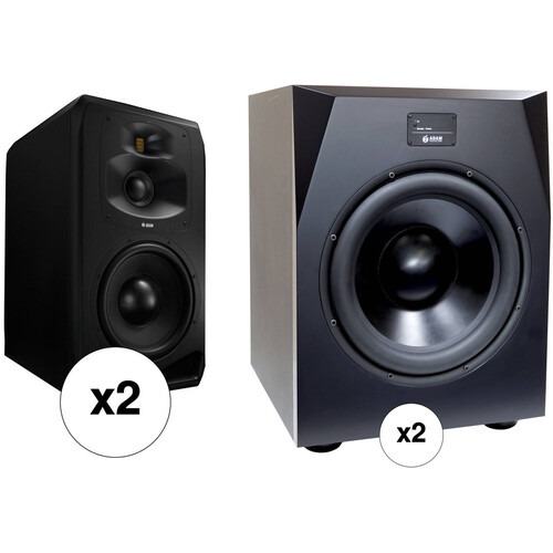 Adam Professional Audio Dresden Room - Midfield Monitors with Matched Subwoofers (Pair)