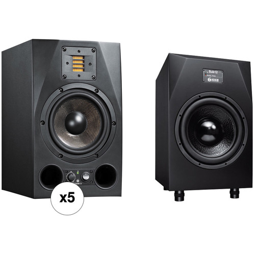 Adam Professional Audio Macdougal - 5.1 Bundle with A7X Monitors & Sub12 Subwoofer