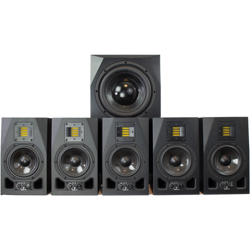 Adam Professional Audio The Pie Town Matched 5.1 Surround System