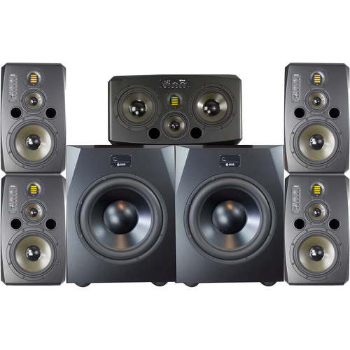 Adam Professional Audio The Queens Matched 5.1 Surround System