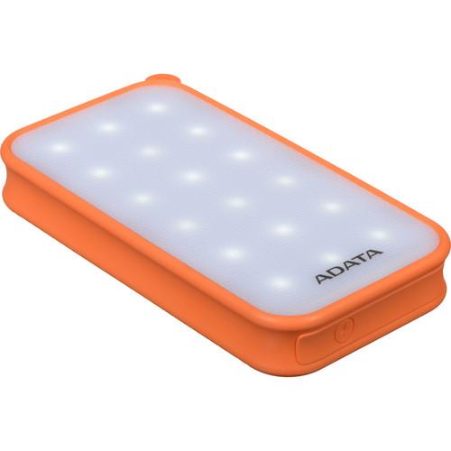 ADATA Technology D8000L 8000mAh Power Bank & LED Flashlight (Orange)