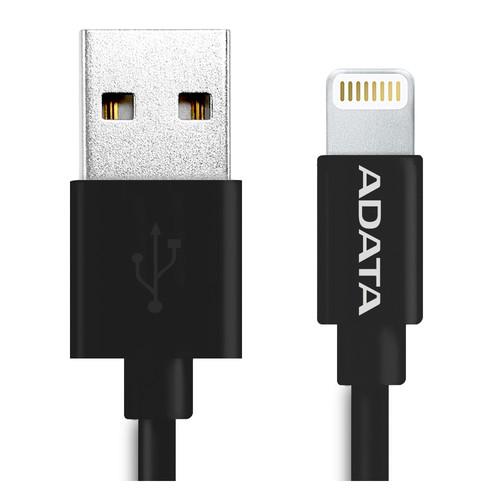ADATA Technology 3' Apple-MFi Sync & Charge Lightning Cable (Plastic, Black)