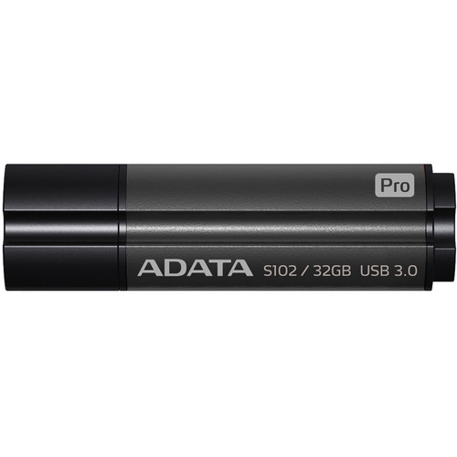 ADATA Technology 32GB S102 Pro Advanced USB 3.0 Flash Drive (Gray)