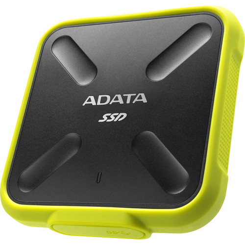 ADATA Technology 256GB SD700 External Solid State Drive (Yellow)