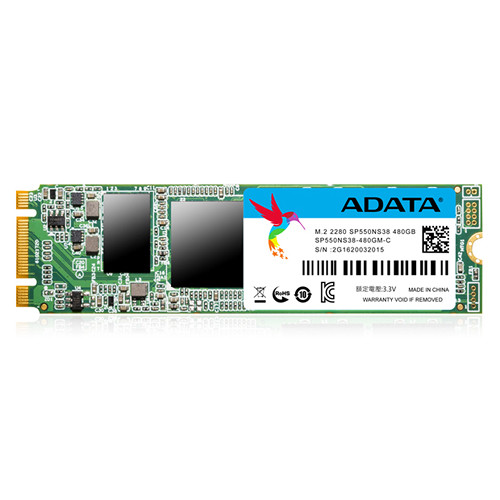 ADATA Technology 480GB Premier SP550 SATA III M.2 Internal SSD