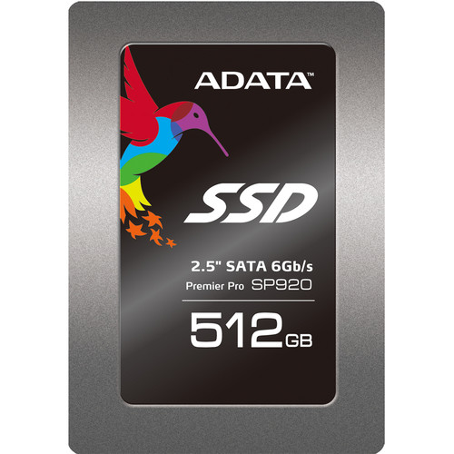 ADATA Technology 512GB Premier SP920 SATA 6 Gb/s Internal SSD
