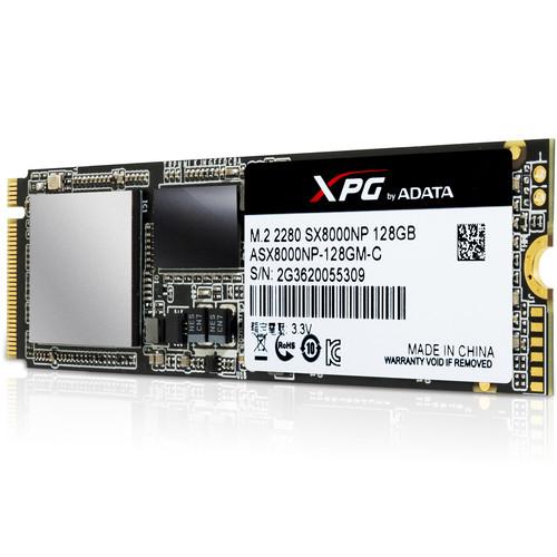 ADATA Technology XPG SX 8000 PCIe Gen3x4 M.2 2280 Solid State Drive (128GB)