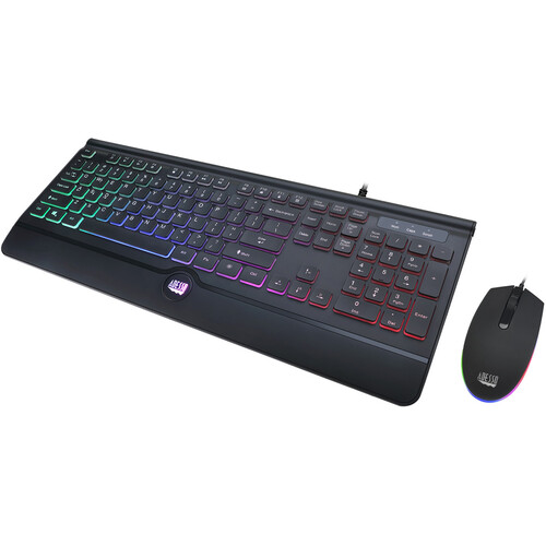 Adesso Illuminated Gaming Keyboard/Mouse Combo